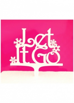 Let It Go Cake Topper